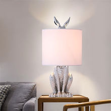 Modern Masked Rabbit Resin Table Lamps Retro Industrial Desk Lights for Bedroom Bedside Study Restaurant Decorative Lights(China)