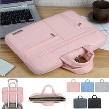 Men Women Portable Notebook Handbag 13 14 15.6 Inch Laptop Bag Sleeve Case For Dell HP Macbook 13.3 Inch