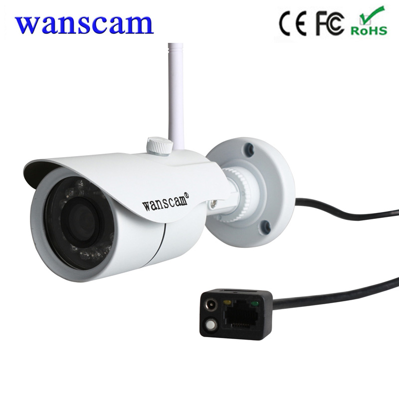 Wanscam HW0043 720P security cctv camera wifi wireless IP security Camera outdoor waterproof bullet camera support NVR record artdeco крем вокруг глаз для очень чувствительной кожи pure minerals ultra sensitive eye cream 15 мл