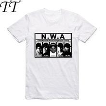 Camiseta sem mangas curtas, camiseta estampada para homens, gola reta, mangas curtas, verão 2019 t swag