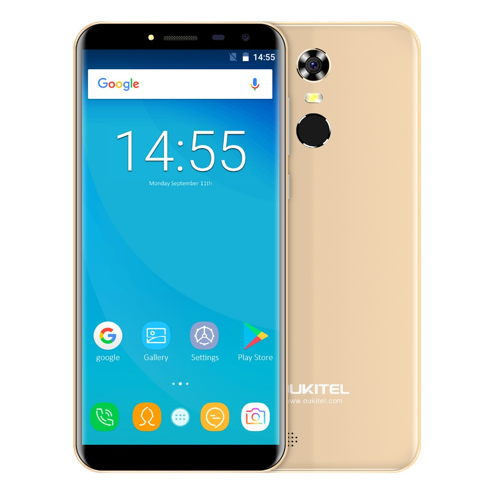 "Oukitel C8 5.5"" 18:9 Infinity Display Android 7.0 Mtk6580a Quad Core Smartphone 2g Ram 16g Rom 3000mah Fingerprint Mobile Phone #3"