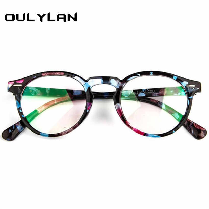 cabdda94e5 ... Oulylan Optical Lens Glasses Frame Women Clear Glass Fashion Brand  Transparent Eyeglasses Female Ultra-light ...