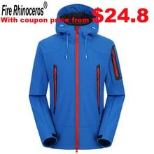 Brand New Outdoor Hunting Camping Hiking Jacket Windproof Waterproof Breathable Softshell Jacket Men Women coat