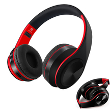 Bluetooth Headphones Wireless Bluetooth Stereo Earphones Foldable Headsets Adjustable Earbuds With Mic TF Card Sports Headset crscn magnetic bluetooth 4 2 stereo headphones sports earphones with mic