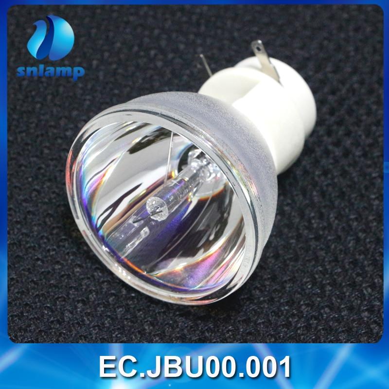 Tüketici Elektroniği'ten Projektör Ampulleri'de Orijinal Projektör lamba ampulü EC. JBU00.001 için X110P/X1161P/X1261P/X1161PA/H110P/X1161N title=