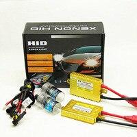 Оптовая продажа, комплект ксеноновой лампы для автомобиля 12В 55Вт Hid h7 h11 9005 9006 h1 h3 880 преобразования с тонким балластом противотуманных фар