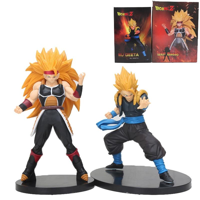 Toys & Hobbies Anime Dragon Ball Z Dbz Dxf Super Saiyan Burdock Wu Geeta Battle Fighting Ver Model Collection Figure Toys