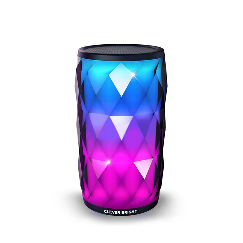 Bluetooth Speakers Wireless LED Touch Control Colorful Night Light Built-in Mic, AUX and Hands Free Speaker for Home and Party vontar bt001 fashion wireless speaker led touch control colorful night light hands free aux and portable bluetooth speaker