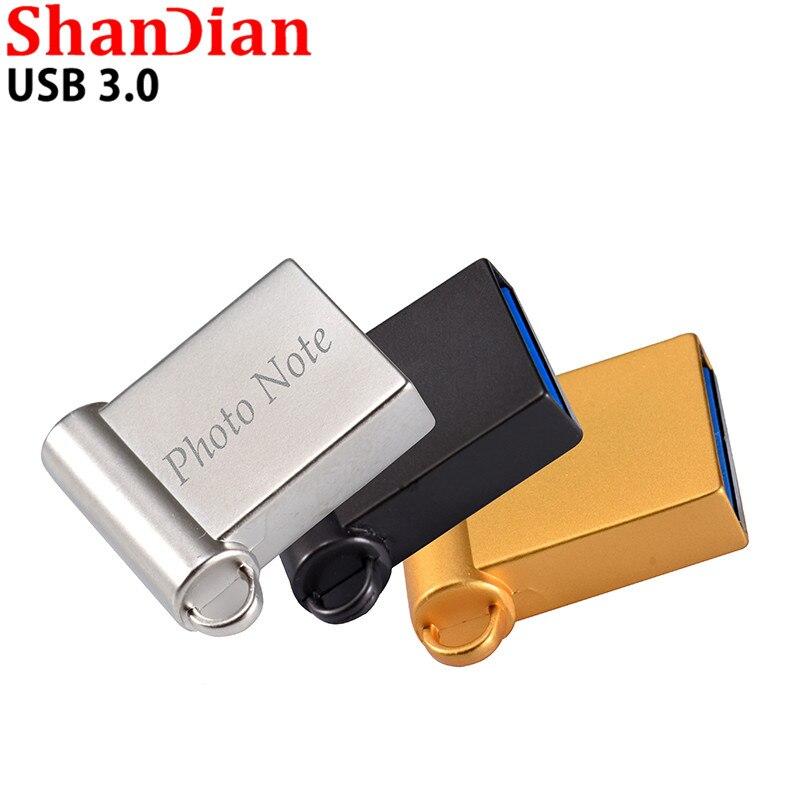SHANDIAN USB 3.0 USB Flash Drive 4GB 8G 16GB 32GB 64GB Pen Drive Pendrive Flash Drive Memory Stick For Friend Gift Customer Logo
