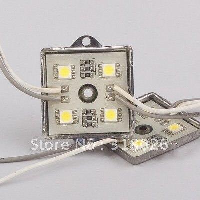 Водонепроницаемый Светодиодный модуль 12 В DC SMD 5050 квадратных Светодиодные модули Светодиоды знак светодиодной подсветкой для объемных бук...