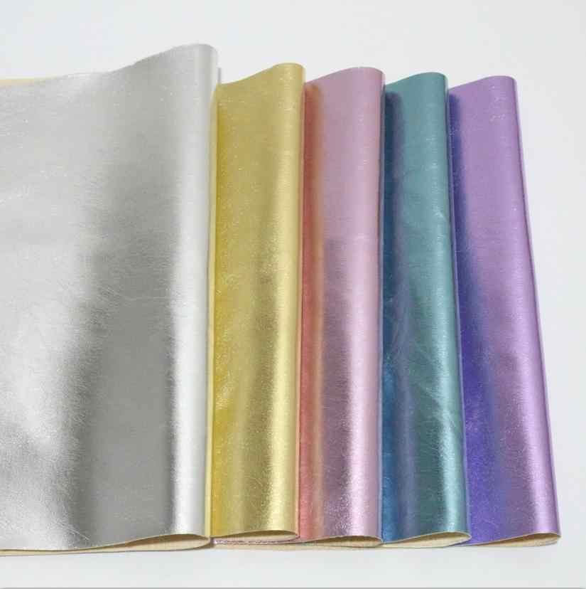 2 pcs A4 21x29 centímetros PU de couro tecido de couro falso couro sintético materiais de Artesanato DIY artesanato