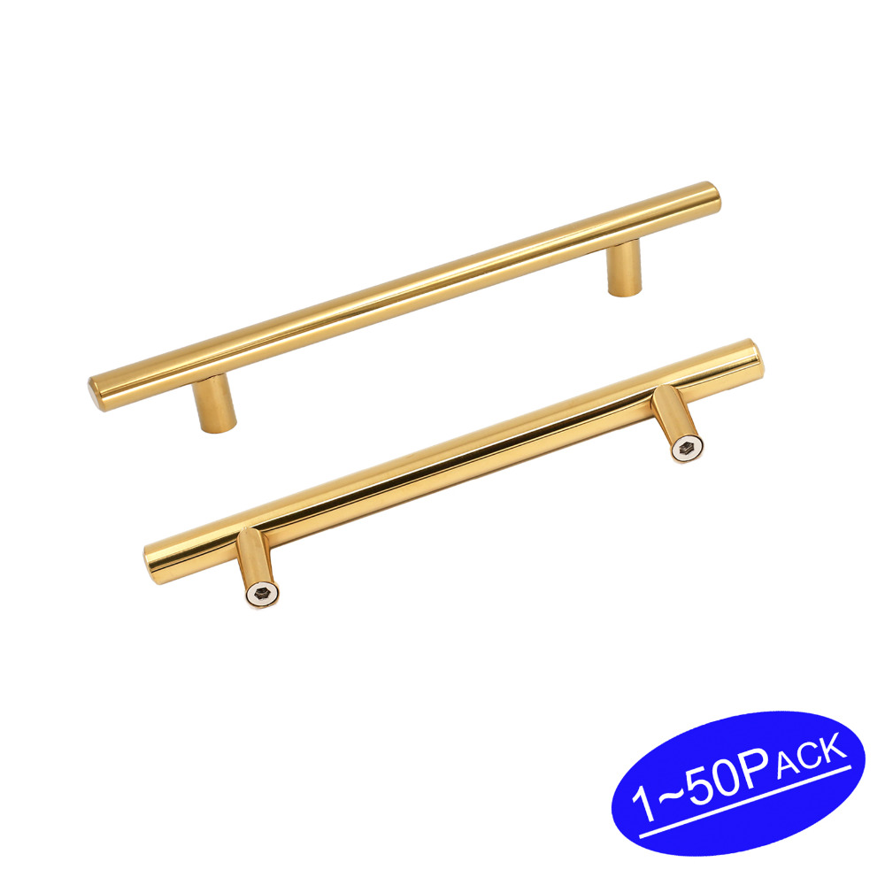 "3.75"" Drawer Pulls Gold Kitchen Cabinet Pulls Stainless"