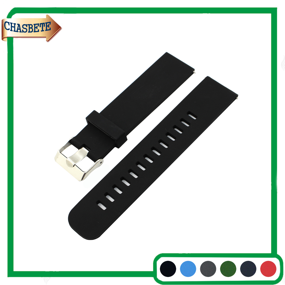Silicone Rubber Watch Band for Maurice Lacroix 18mm 20mm 22mm Quick Release Resin Strap Belt Wrist Loop Bracelet Black Blue купить