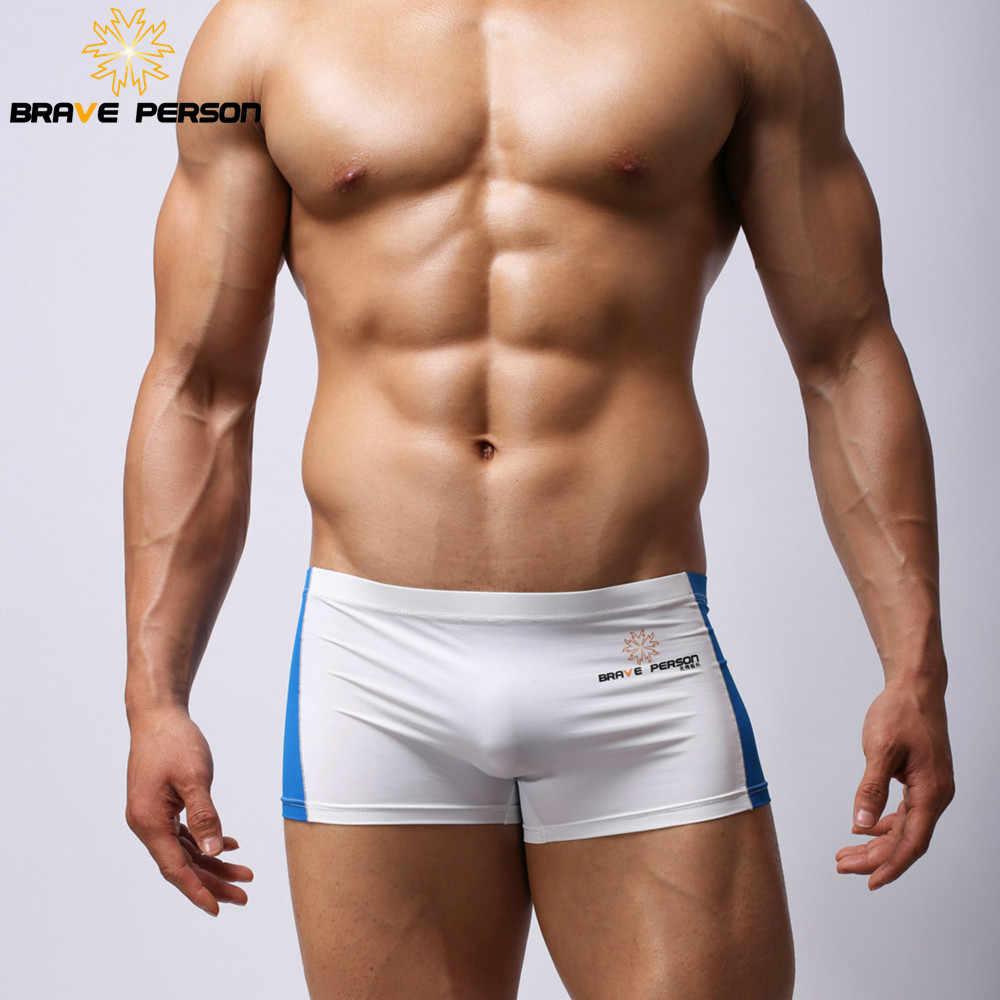 364ef896f5a9f Храбрый Человек Для мужчин шорты-боксеры ультра-тонкие удобные нейлон ткань  сексуальное нижнее белье