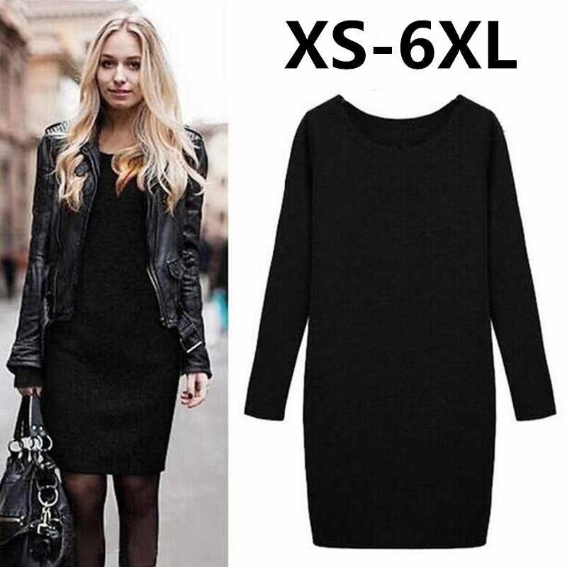 54ab414f5bfd4 Detail Feedback Questions about 2018 Winter Autumn Women Dress New ...
