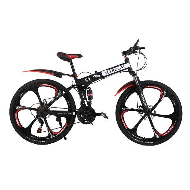 ALTRUISM X9 Горный Велосипед Складной Стальной 21 Скорости 26 Дюймов Дискового Тормоза