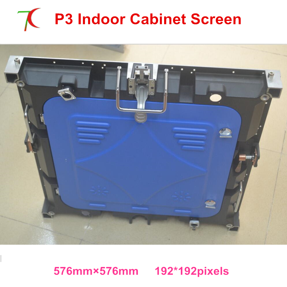 Cost-effective P3 Indoor 576*576mm 32scan Die-casting Aluminum Cabinet For Hd Real Led Display,1300cd