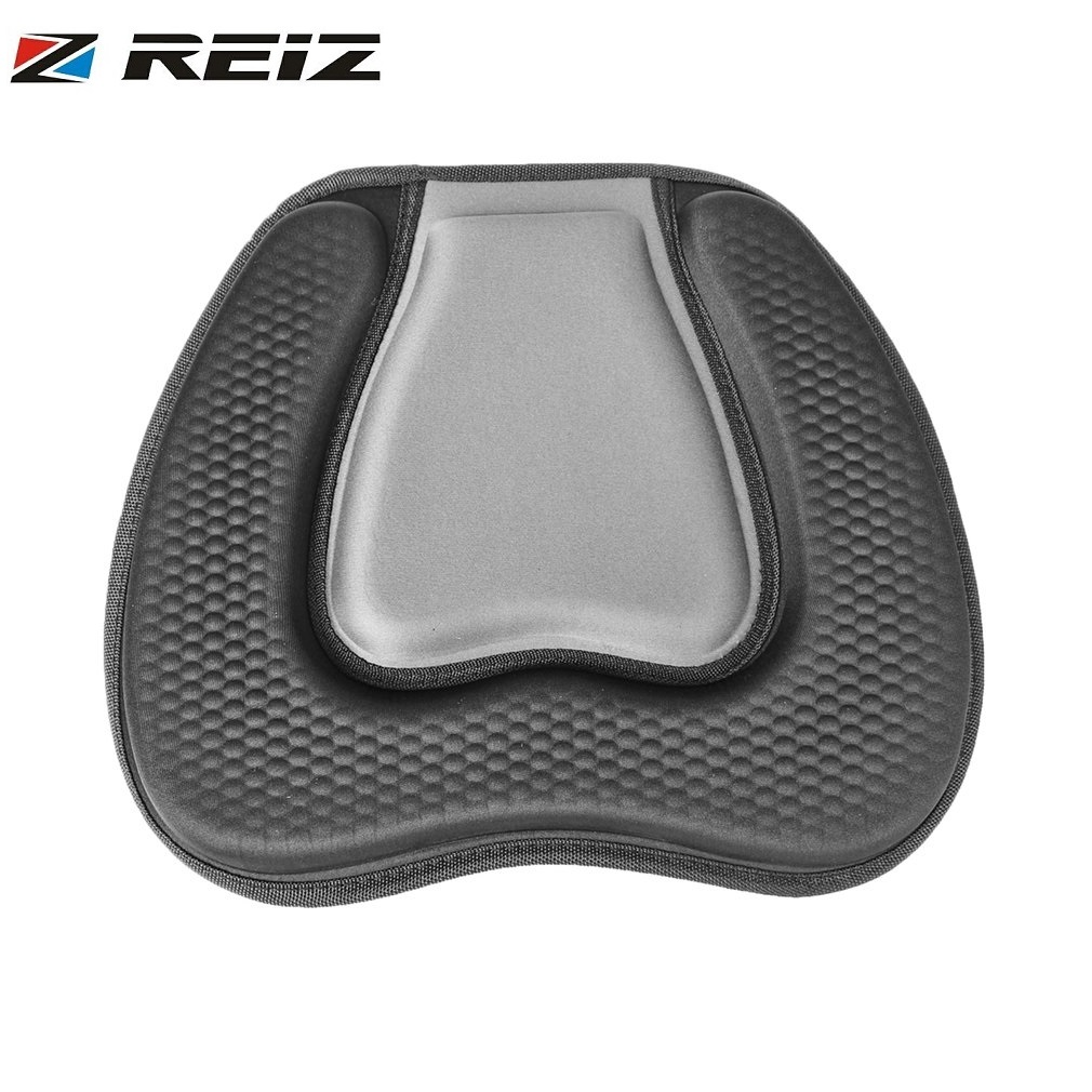 REIZ Soft Comfortable Padded Seat Cushion On Top Backrest Sit Seats for Outdoor Kayak Canoe Dinghy Boat Water Sports Accessory ...