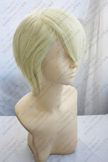 Jewelry Wig Harry Potter Draco Malfoy Short Blonde Cosplay Party Wig Free Shipping(China)