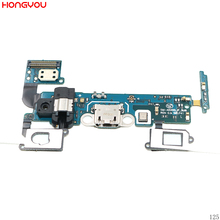 цена на USB Charging Plug Socket Connector Charge Dock Port Audio Earphone Jack Flex Cable For Samsung Galaxy A5 A5000 A500F