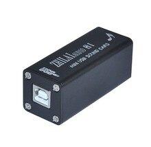 Zhilai H1 минисистемы USB DAC PCM2704 звуковая карта совета Черный цвет