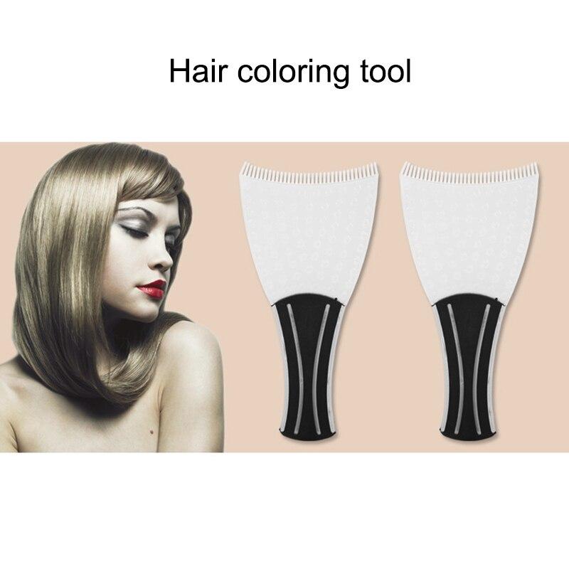 Professional Hairdressing Hair Applicator Brush Dispensing Salon Hair Dyeing Pick Color Board 789