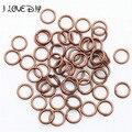 Wholesale Silver Plated Metal Split Rings Findings for Key Rings 4mm 5mm 6mm 7mm 8mm 10mm 12mm for Jewelry Making
