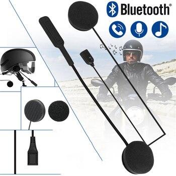 MH01 Motorcycle Helmet Earphone Headphone Dual Stereo Speaker Handsfree Music Motor Wireless Bluetooth Headset For MP3 MP4 phone