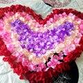 Новое Прибытие 2017 Оптовая 1000 шт./лот Свадебные Украшения романтический Искусственные Цветы Полиэстер Свадебный Лепестками Роз искусственные цветы