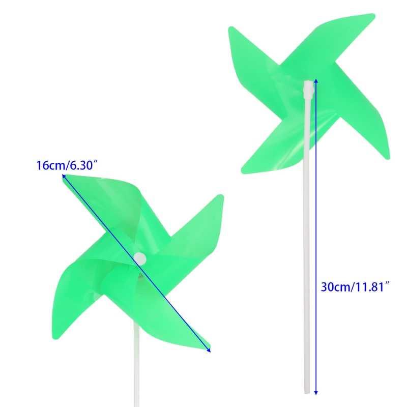 Светящаяся ветряная мельница светодиодный ветер Спиннер двор садовые украшения Декор детские игрушки открытый подарок