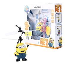 2016 Hot Sale Movie Character RC Minions Aircraft Induction Helicopter Kid Child Toys Drop Shipping