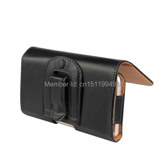 1 PCS Mode PU Kulit Belt Clip Kulit Pocuh Tutup Kasus untuk iPhone 6 - Aksesori dan suku cadang ponsel - Foto 4