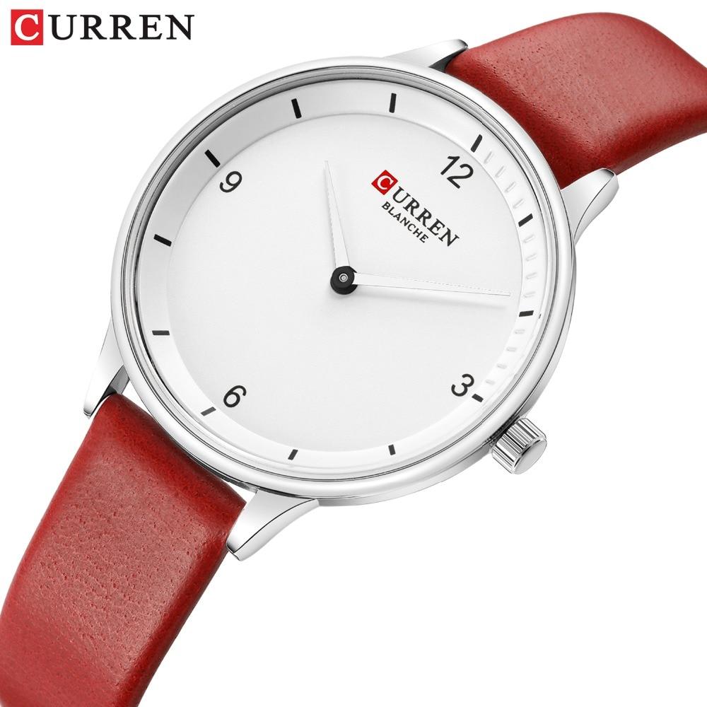 CURREN Women's Watches 2019 Fashion Ladies Watches For Women Bracelet Clock Dress Wristwatch Luxury Relogio Feminino Saati