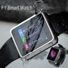 2016 neue Wasserdichte Bluetooth Smart Watch F1 Smartwatch Sync anruf SMS Facebook Schrittzähler schlaf kamera Für IOS Android Smartphone