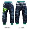 2016 New arrival 12 estilos Coelho K k jeans meninos engrossar crianças inverno quente calças de brim casuais confortáveis calças de menino de varejo CP162