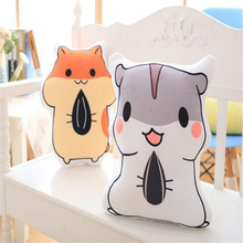 Hot Japan Anime dimension squirrel Cute Doll Pillow Squirrel Plush Stuffed Animal Toy