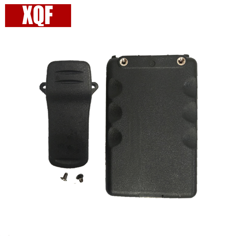 XQF BP-227 Li-ion Battery Case For ICOM Two Way Radio IC-F51 IC-F60 IC-60V IC-F61 IC-F61V Walkie Talkie With Belt Clip