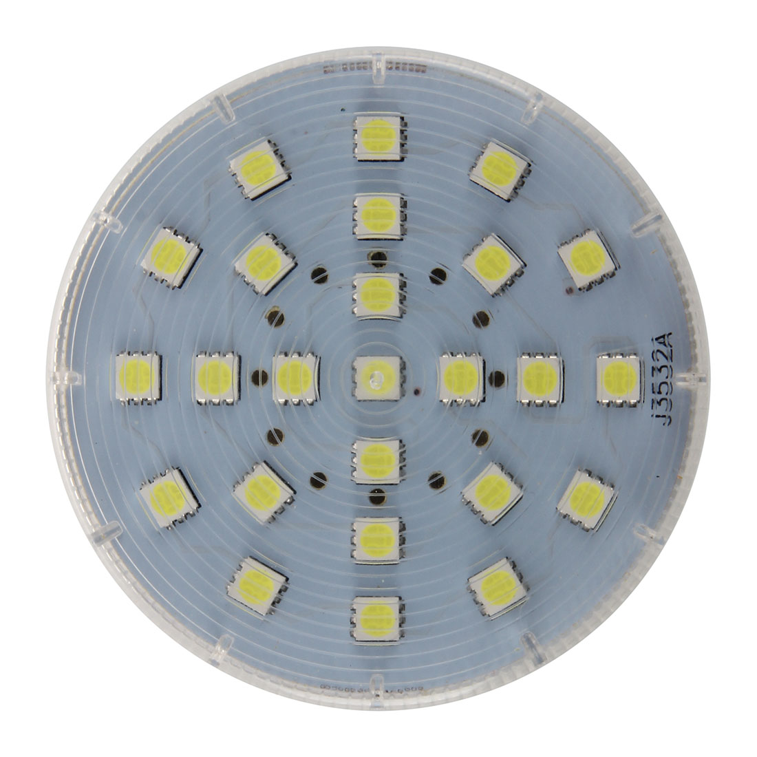 Gx53 25 LED 5050 SMD 4W 6500K White Ceiling Down Light Bulb Downlight