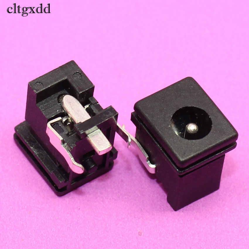 Cltgxdd 5.0*1.65mm gniazdo zasilania DC złącze przełącznika 0.5A 30V 3Pin DIP panel audio gniazdo montażowe dla Sony PS2 telewizor z dostępem do kanałów dużych obiektów energetycznego spalania PC ect