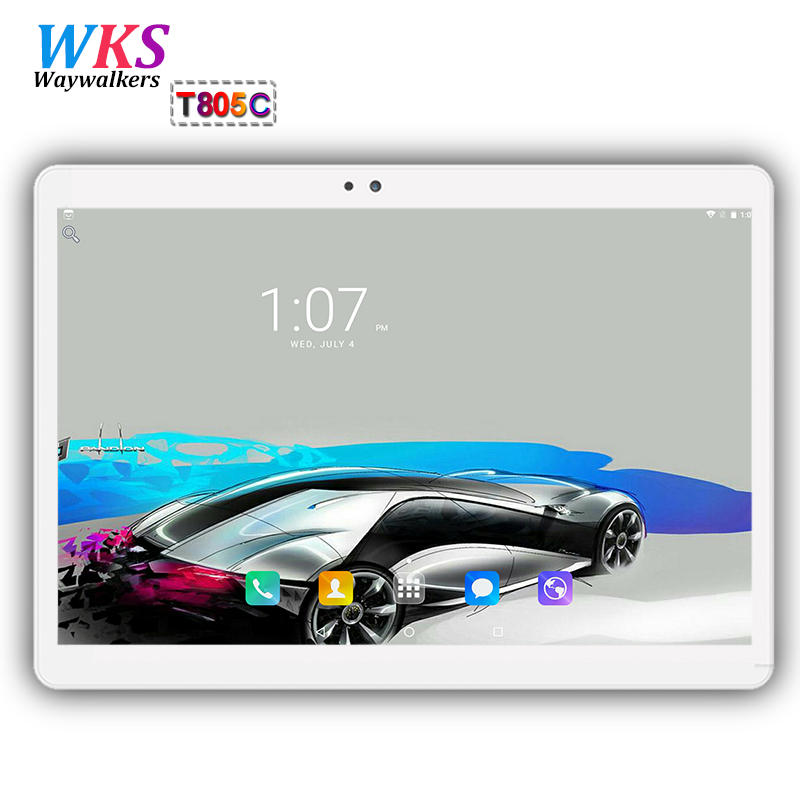 Waywalkers 10.1 inch 3G 4G LTE tablet pc Android 7.0 Octa Core 4GB RAM 64GB ROM 1920*1200 IPS Cameras 5MP tablets pc MID 10 10.1 2017 new android 7 0 original 10 core 10 1 inch 3g 4g lte tablet pc 1920 1200 ips hd 8 0mp 4gb ram 64gb rom bluetooth gps