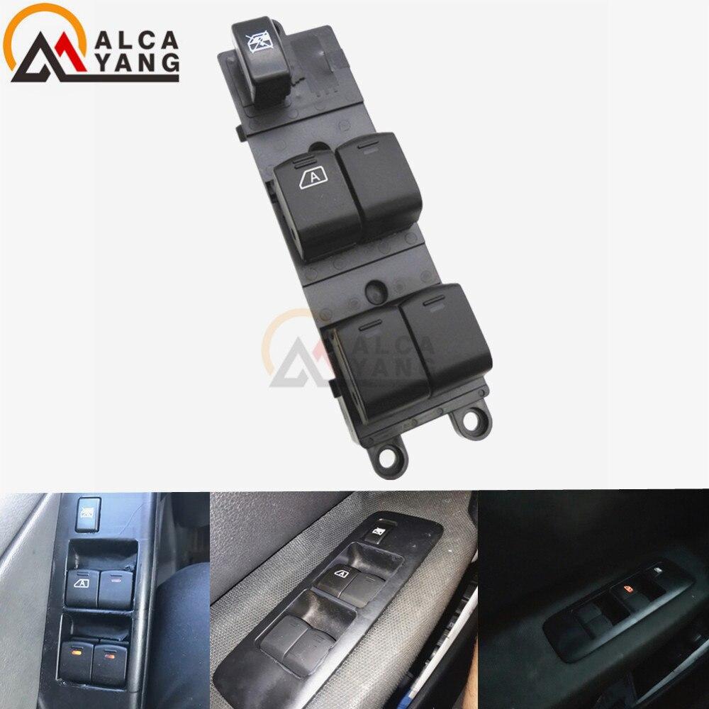 Malcayang Schalter Fensterheberschalter For Nissan Qashqai J10 2.0 dCi 4WD Navara D40 Vehicles Car QZ 25401-JD001