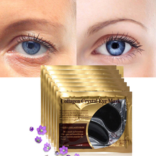 Moisturizing Eye Patches EFERO Black Gel Face Skin Care Mask Pads Anti-Puffiness Anti-Wrinkle Collagen 8Pair
