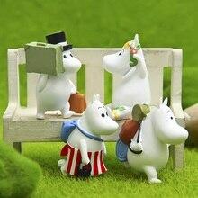 4PCS/Lovely HeMa/children gifts/fairy garden gnome/terraium decoration/resin crafts/bonsai/DIY/