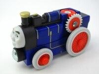 En bois Thomas Train T054W FERGUS Thomas Et Amis Trackmaster Magnétique Tomas Camion Voiture Locomotive Moteur Ferroviaire Jouets pour Garçons
