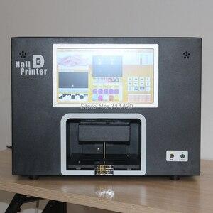 Stampatore digitale del chiodo per il salone professionale del chiodo disegni unghie macchina costruire con PC e schermo
