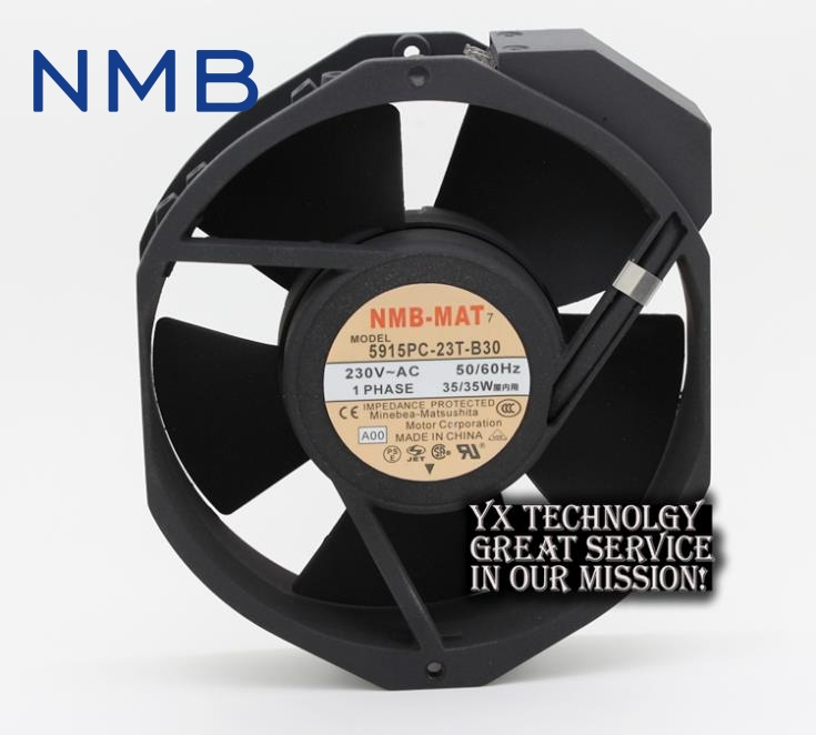 New 17038 double ball 220V AC fan 5915PC-23T-B30 35W for NMB-MAT7 170*170*38mm недорго, оригинальная цена