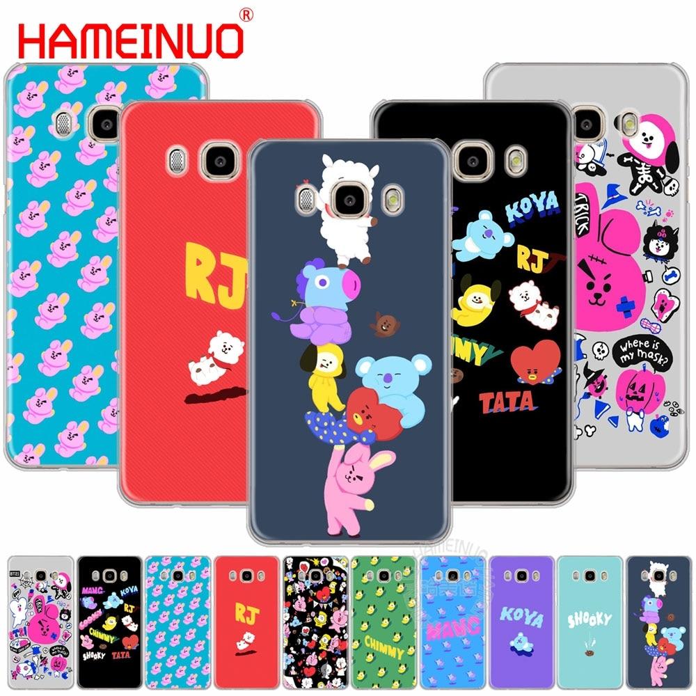 HAMEINUO BTS BT21 Bangtan Boys KOYA SHOOKY cover phone case for Samsung Galaxy J1 J2 J3 J5 J7 MINI ACE 2016 2015 prime