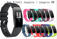 Vervanging Band Polsband Siliconen Polsbandje Armband Voor Fitbit Inspire / Inspire Hr Case Activiteit Tracker Smartwatch