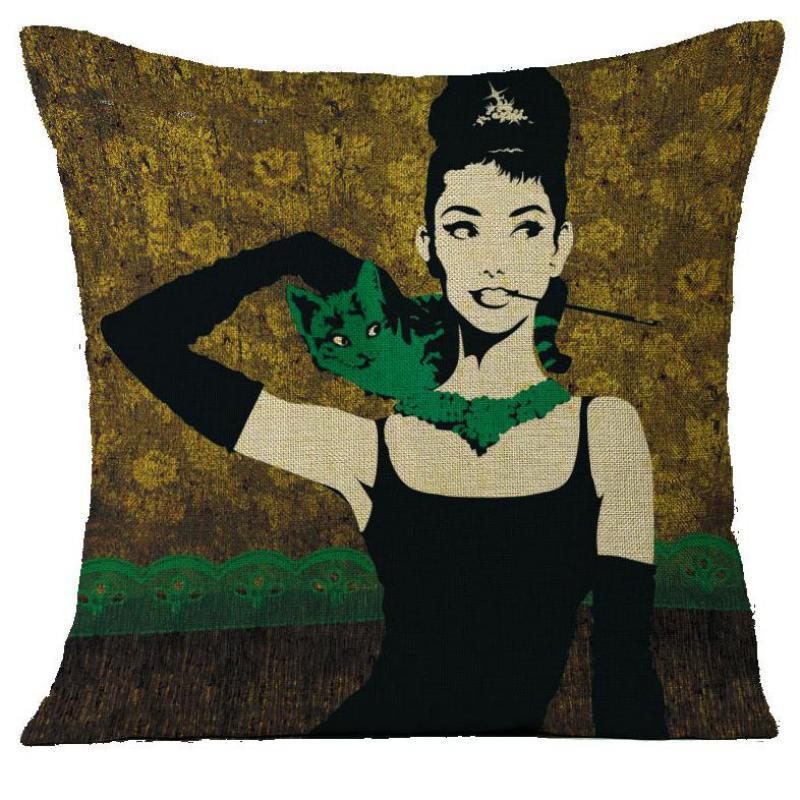 No Inner Filling Wholesale Customized Audrey Hepburn