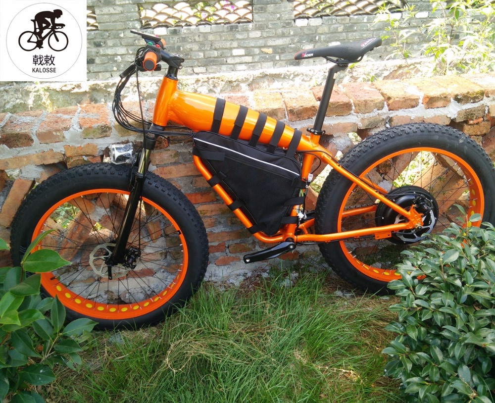 Back To Search Resultssports & Entertainment Cycling Kalosse E-bike Hydraulic Brakes 24 Speed M310 Alloy 60v 1500w 26*4.0 Tireselectric Fat Bike Electrical Snow Bike Terrific Value